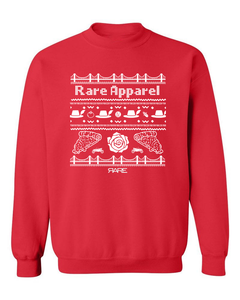 "Crewneck - The ""Not-So-Ugly"" Christmas Sweater - Unisex - Red/White"
