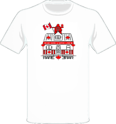 RAREhouse Canada Day Tee - Mens