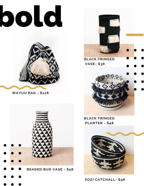 bold ethical and artisan made gift ideas
