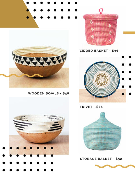 ethical and artisan made hostess gift ideas 2018