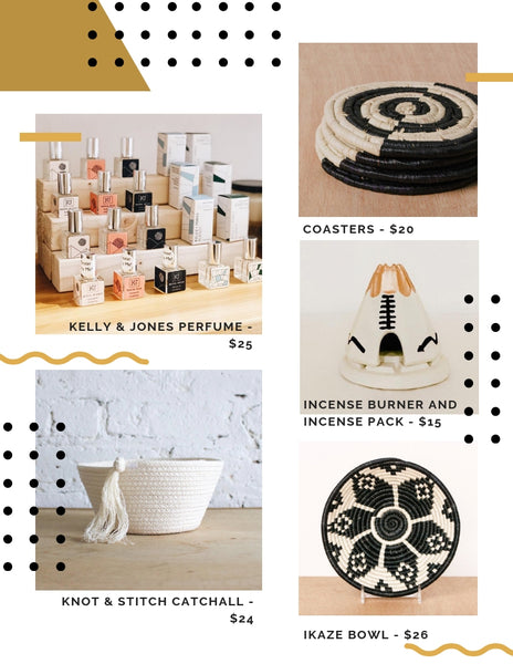 ethical and artisan made hostess gift ideas under $30