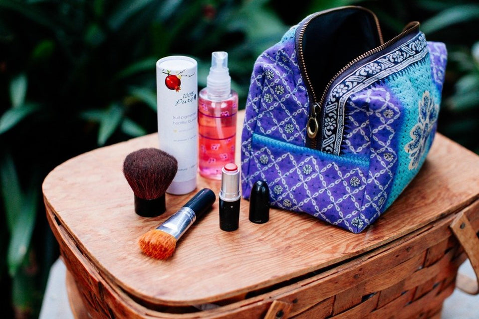 Makeup Bag Ethically made