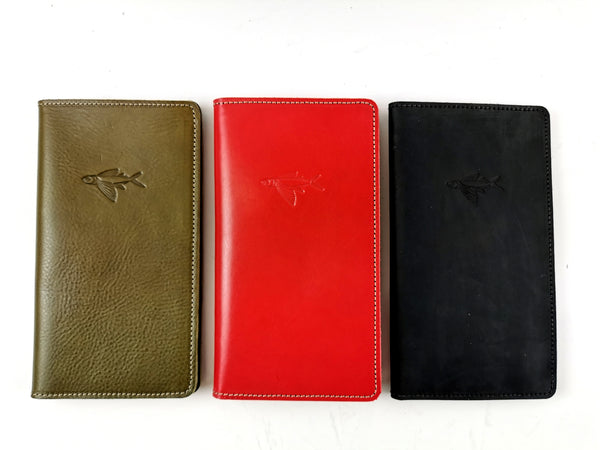 Leather travel Wallet- -NZ Made- -Soul