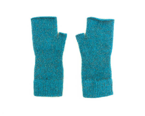 Merino Possum Fingerless Mittens