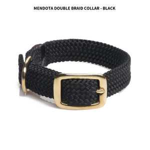 "Braided Collar 9/16"" (14"") Black"