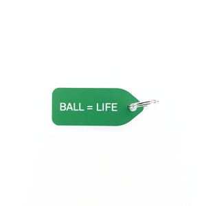Ball = Life Dog Tag