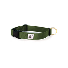 Load image into Gallery viewer, Snap Collar - Military Green