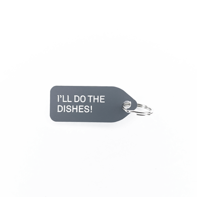 Ill Do The Dishes Dog Tag