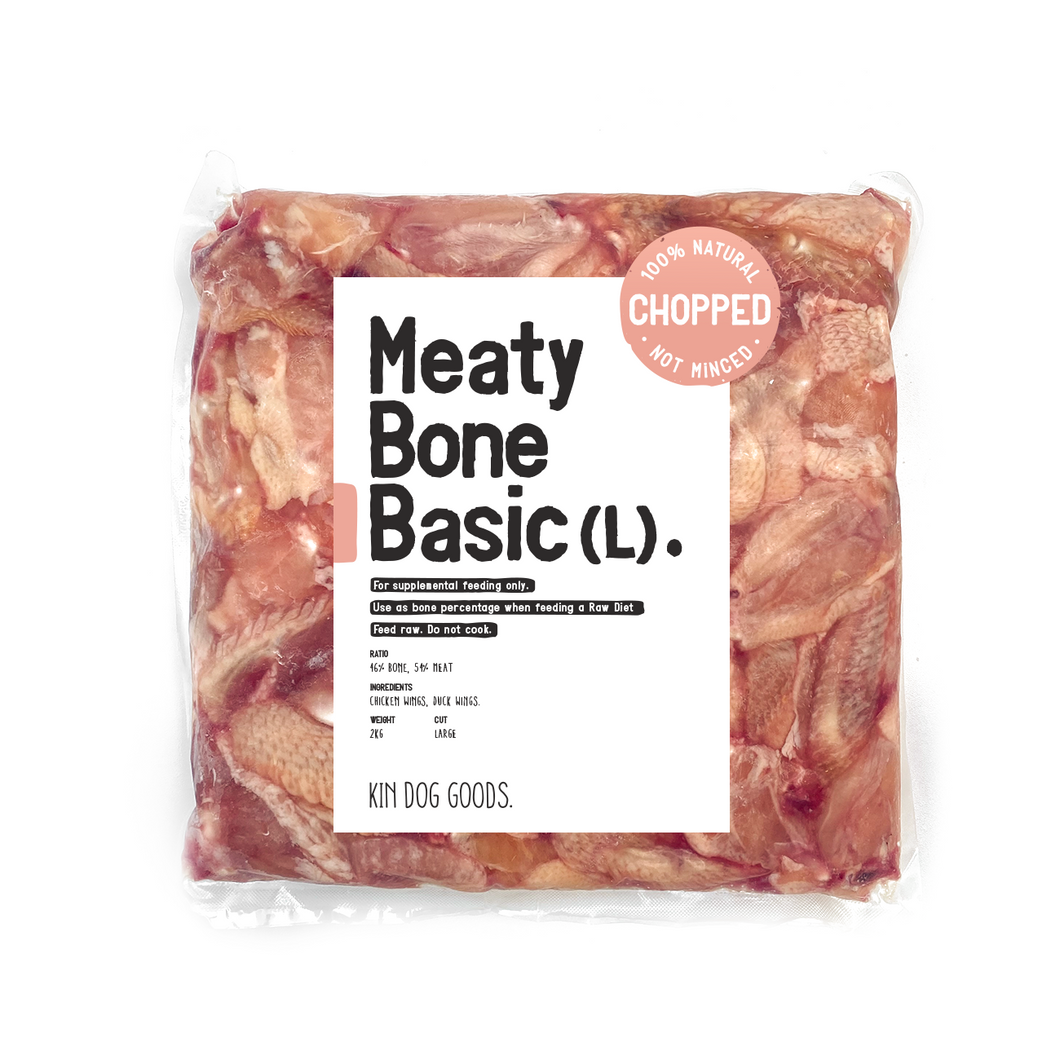 Meaty Bone Basic (L) 2kg