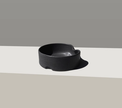 Black Ergo Dog Bowl