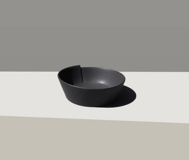 Black Gami Dog Bowl
