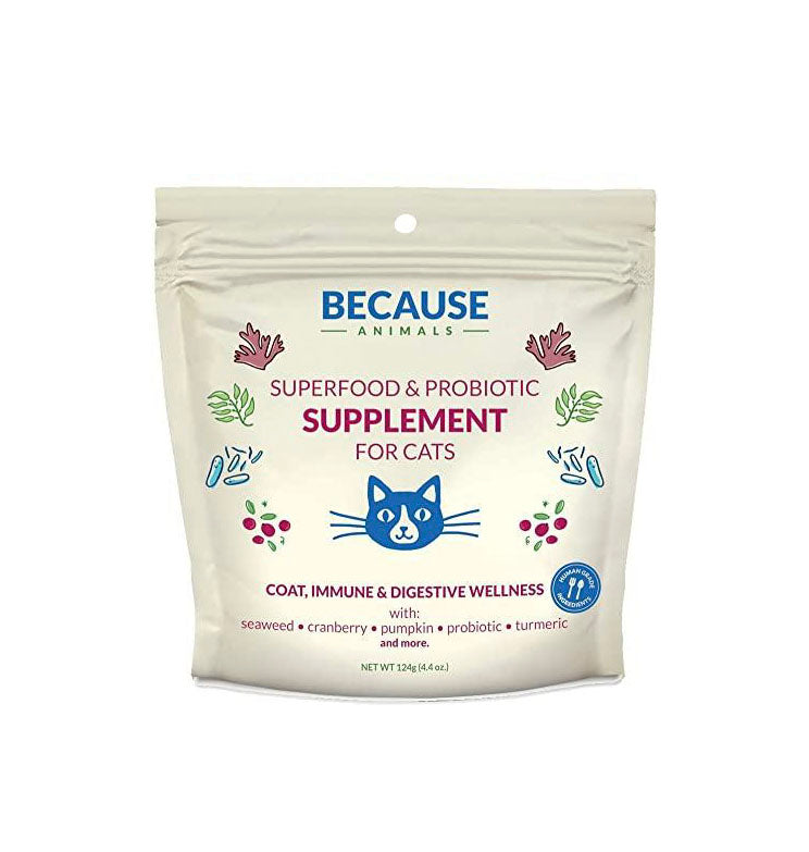 Superfood & Probiotic Supplement For Cats