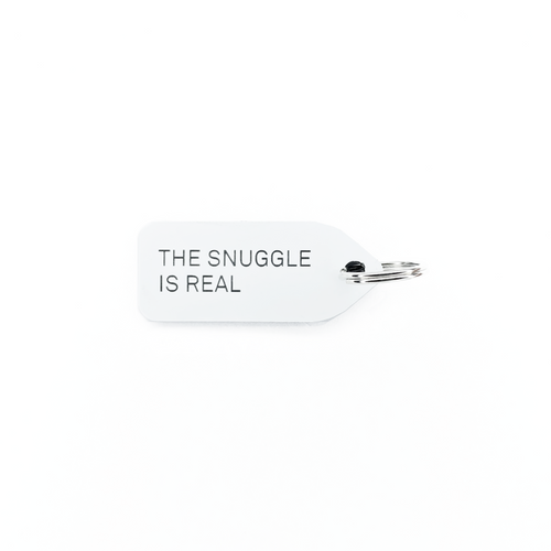 The Snuggle is Real Dog Tag