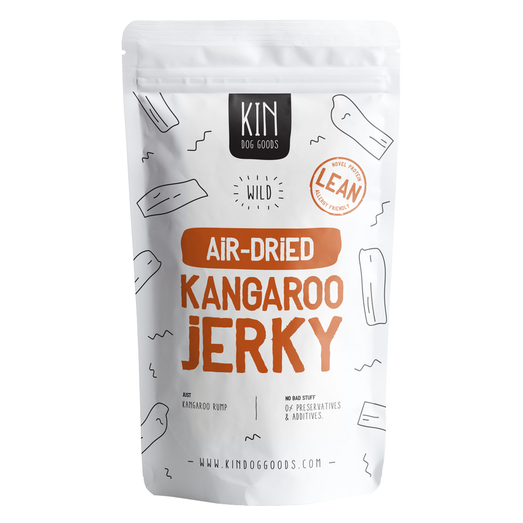Air-Dried Kangaroo Jerky