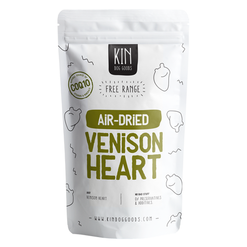 Air-Dried Venison Heart