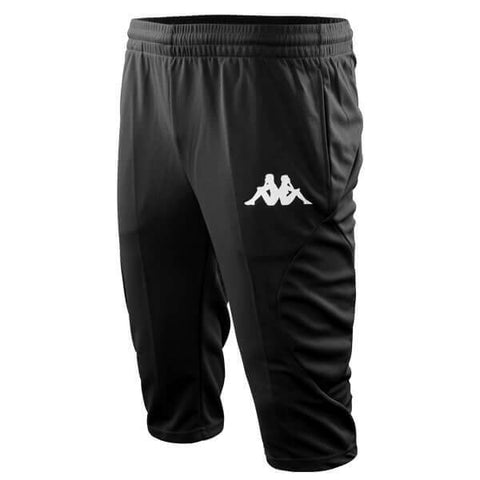 Adult Track Pants 3/4 - Black