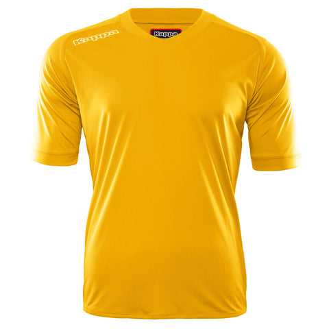 Adult Short Sleeve Jersey Yellow