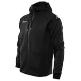 Soft Shell Hooded Jacket - Black