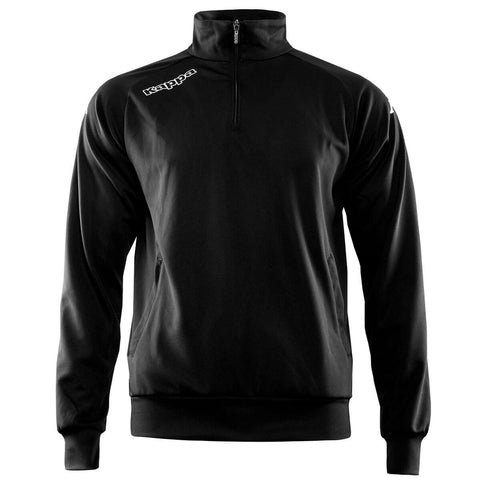 Track Jacket 1/4 Zip - Black