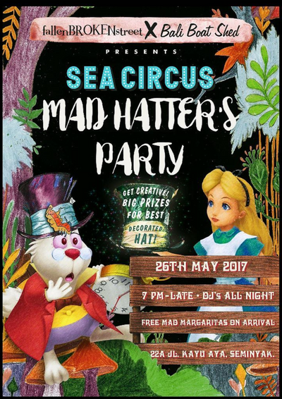 fBs X Bali Boat Shed: Mad Hatter's Party