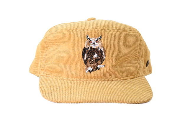 The Stash Cap - Mustard Owl