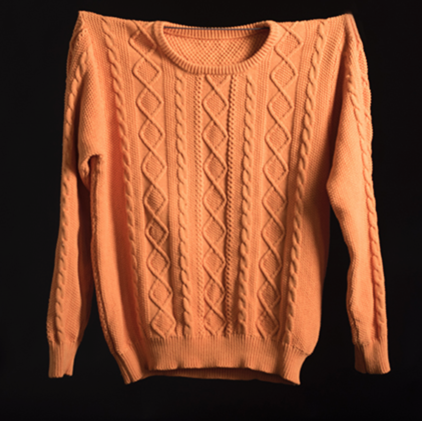 The Cable Cotton ORANGE s/m