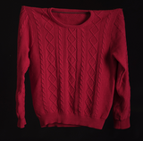 The Cable Cotton RED s/m