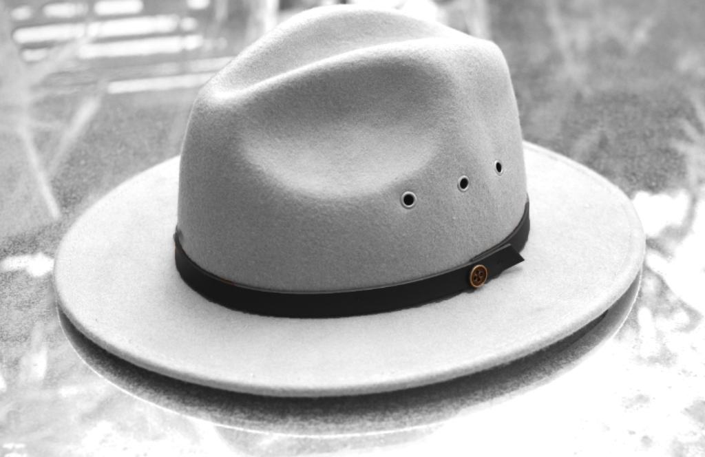 The Ratatat Hat Band Only - Black Leather