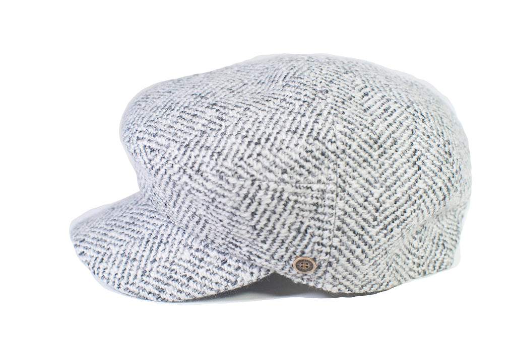 The Twist - White Tweed