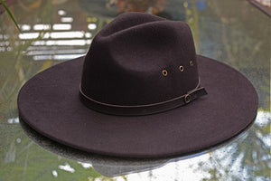 The Ratatat Wide Brim - Chocolate