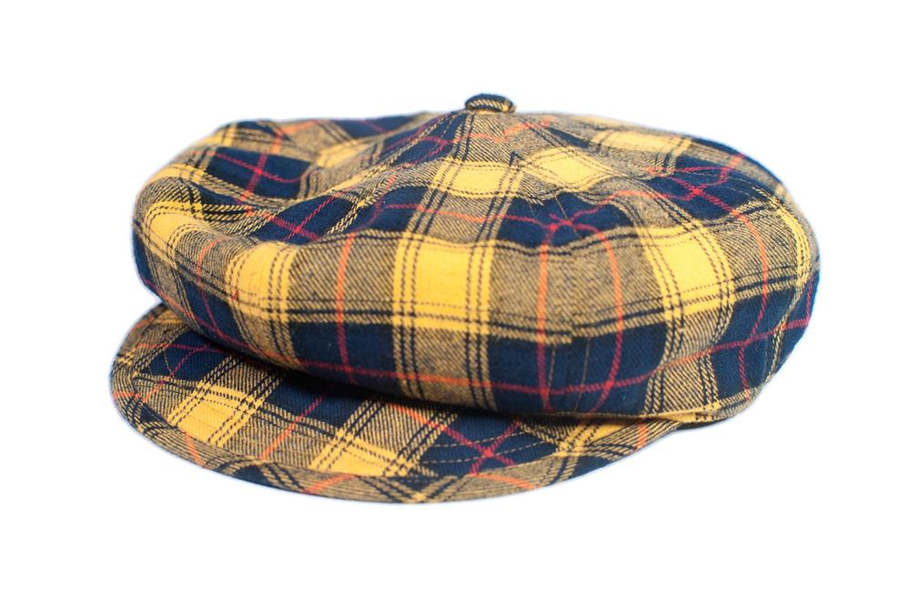 The Oliver - Yellow Tartan