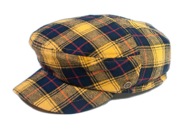 The Twist - Yellow Tartan