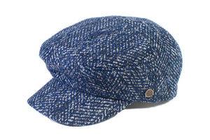 The Twist - Blue Tweed