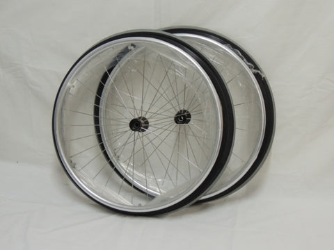 "24"" Spinergy Spoke Wheels with alloy push rims"