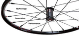 Topolino - Carbon Core WX2.5 wheelchair wheels - one of the worlds lightest wheelchair wheels