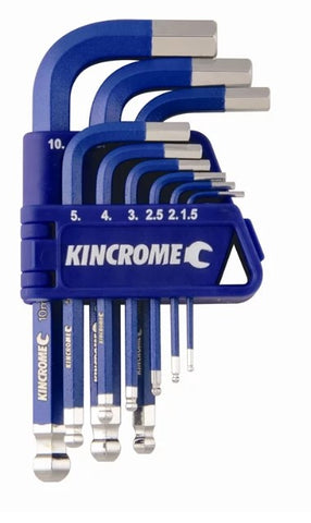 Copy of Hex key & wrench set short series 9 piece