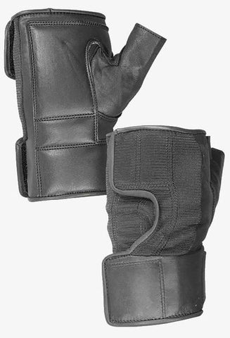 Hatch - Wheelchair Quad Push Gloves - Leather Palm