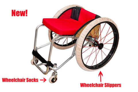 RehaDesign Wheelchair Tire Covers!