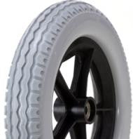 Wheel 12-1/2 x 2-1/4 With PU Tyre