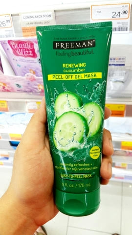 Cucumber Peel-Off Gel Mask