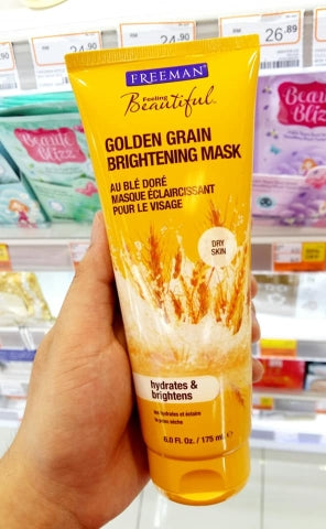 Golden Grain Brightening Gel Mask