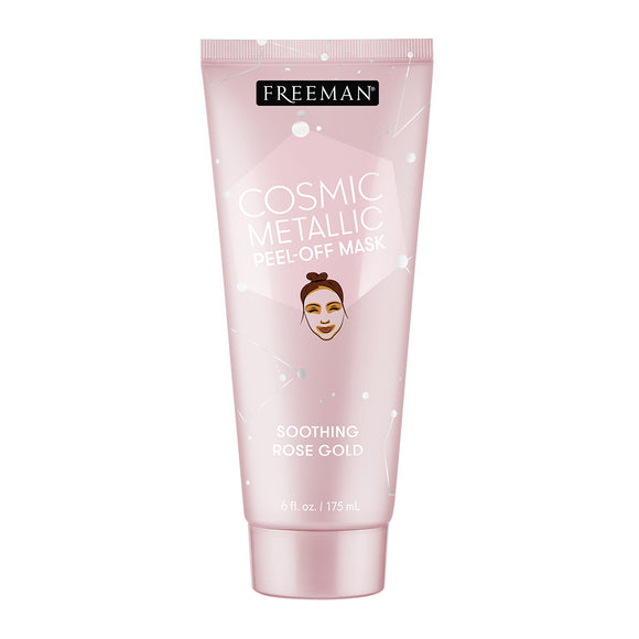 Freeman Beauty Cosmic Metallic Soothing Rose Gold Peel-Off Mask