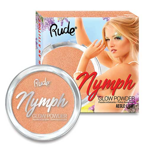 Rude Nymph Glow Powder - Aegle - Light