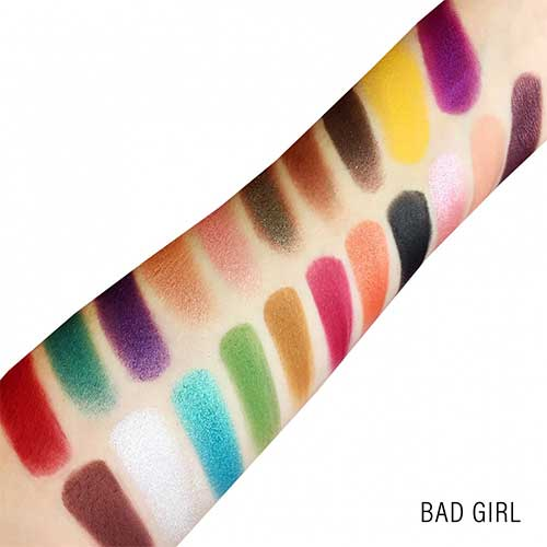 Rude Blackjack 21 Eyeshadows - Bad Girl