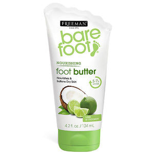 Freeman Bare Foot Nourishing Foot Butter Lime & Coconut