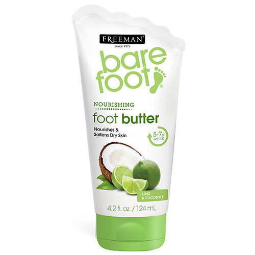 Freeman Bare Foot Nourishing Foot Butter Lime & Coconut (Expiry Date:06/2021)