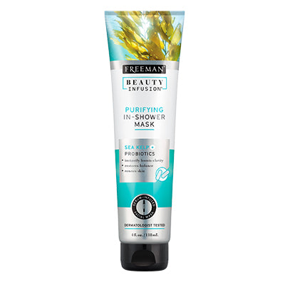 Freeman Beauty Infusion Purifying In-Shower Mask - Sea Kelp + Probiotics (Exp : 7/2021)