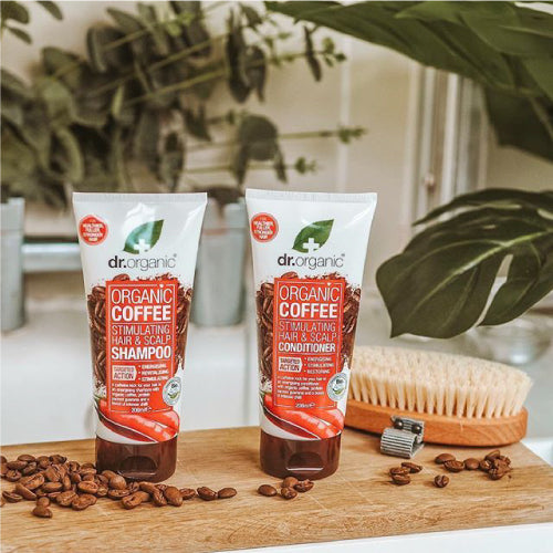 dr. Organic Coffee Stimulating Hair And Scalp Conditioner