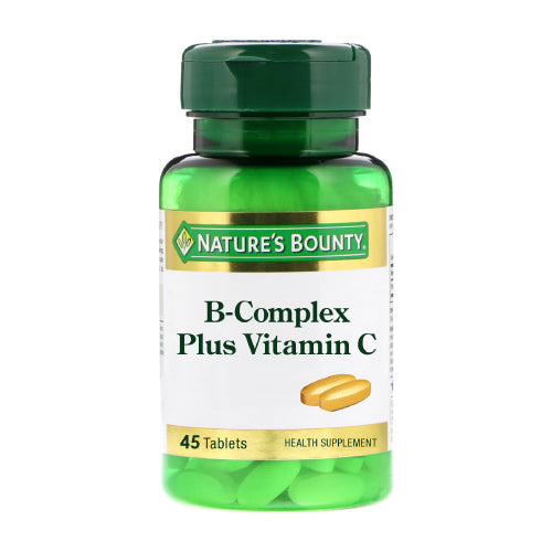 Nature's Bounty B Complex Plus Vitamin C