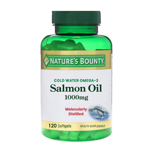 Nature's Bounty Salmon Oil 1000mg (120 Softgels) (Expiry date: 11/2021